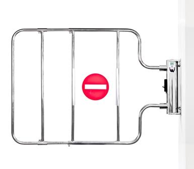 Mechanical Checkout Gates